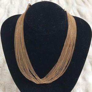 Gorgeous multi strand necklace